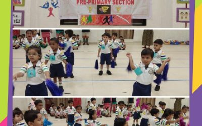 "Pre Primary section ""Annual Sports Day"""