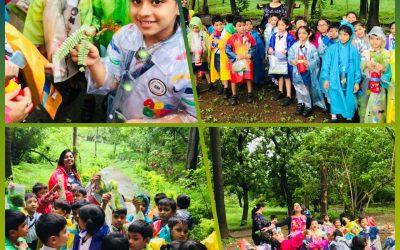 Field trip to BPT (Bombay Port Trust) Garden, Colaba.
