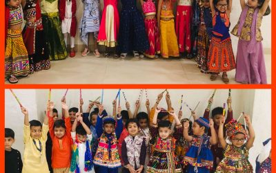 Pre-Primary Section Navratri and Diwali Celebration