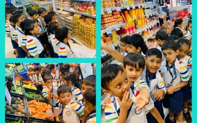 Juniour Kg. Field Trip To The 'Reliance Super Market' on Friday 20th December 2019