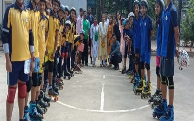 Inter House Roll Ball Competition