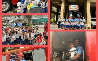 Junior Kg. Field Trip To Fire Station And Police Station