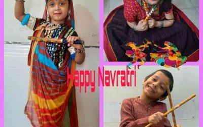 Senior Kg – Navratri celebration pictures