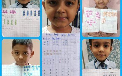 Mathematics activity for grade I &II !!!