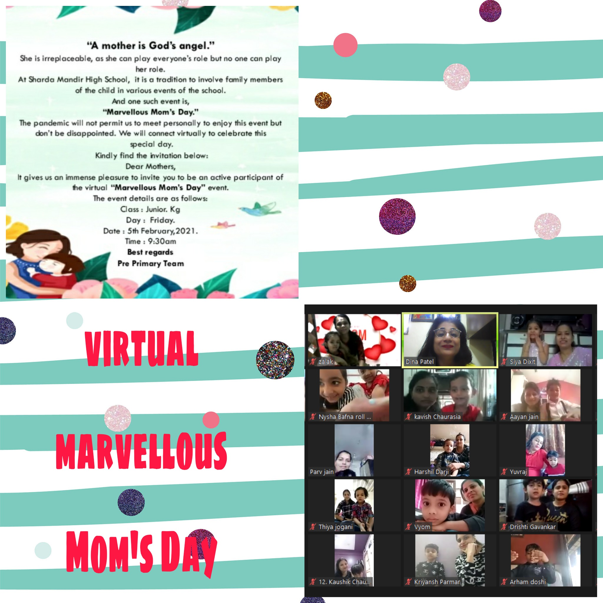 Virtual Marvellous Mom's Day by Jr.kg